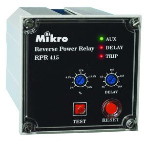 Reverse Power Relay